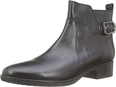 Geox 健乐士 D Felicity C 女士短靴 黑色(黑色 C9999) 40 EU