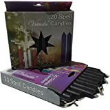 1 X Black Chime Candle 20 pack
