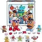 Mr. Disney/Pixar 玩具总动员 4 Andy's Playroom Potato Pack 玩具,适合 2 岁及以上儿童