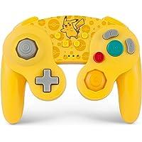 PowerA Pokemon 無線GameCube 樣式控制器,適用于任天堂切換器 - 皮卡丘