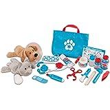 Melissa & Doug 美国玛莉莎 动物医生 医生套装 兽医 模拟玩具 8520