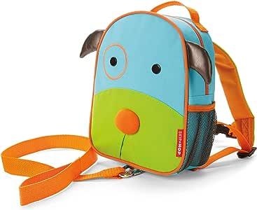 Skip Hop 蹦蹦跳跳动物园系列儿童和幼儿*包带背包 蓝色小狗