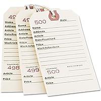 Avery 15030 维修标签,5 1/4 x 2 5/8,马尼拉(一盒 500 张)