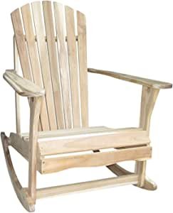 International Concepts Adirondack Porch Rocker