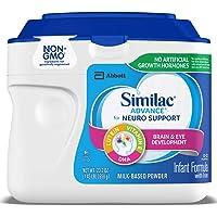 Similac 雅培 Advance  For Neuro Support 婴儿配方奶粉,23.2 盎司(658g)(6 件装)