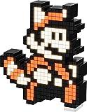 PDP Pixel Pals 任天堂 Super 3 Raccoon 马里奥收藏版照明人物,橙色,8.8 x 11.2 x 15.9 厘米