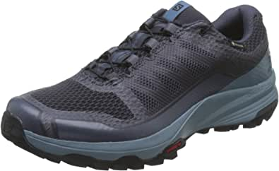 Salomon 萨洛蒙 XA DISCOVERY GTX W,越野跑鞋,防水 Blue (India Ink/Bluestone/Black India Ink/Bluestone/Black) 6 UK