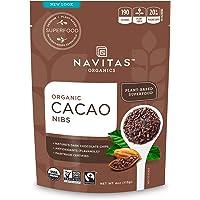 Navitas Organics 可可豆碎粒,约113克。袋装。