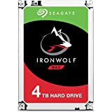 Seagate 3.5 英寸 4 TB 铁狼 SATA III 硬盘驱动器 - 银色