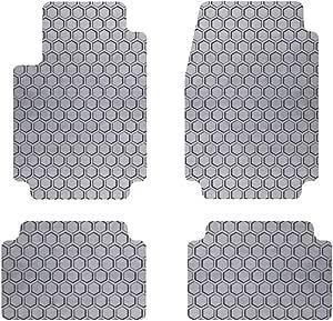 Intro-Tech Hexomat 脚垫,适用于精选三菱菱钻石车型 灰色 NS-736-RT-G