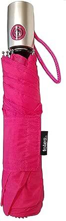 Totes NeverWet Technology,自动开合自动关闭,43英寸(约109.2厘米)弧形雨伞,粉红色樱桃,