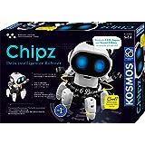 KOSMOS - Chipz - 你的智能机器人,6条腿,后续动作,柔和阻碍,光线和声音效果,机器人玩具,套装,实验箱…