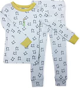 Finn + Emma *棉睡衣套装 适合幼儿男孩或女孩 Estrellas Top & Yellow Stars Pants 2T