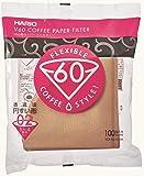 Hario V60 Misarashi咖啡滤纸(尺寸02,100张,自然)