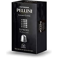 Pellini Supremo 雀巢咖啡机兼容 奢华咖啡胶囊 (4盒装,共120粒)