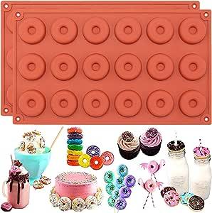 Funshowcase 甜甜圈硅胶模具 2 件套 小 141=2