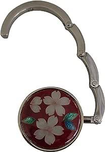 彩光舍 七宝烧 種類 : 折り畳みハンガー 約径4.5cm 025-48