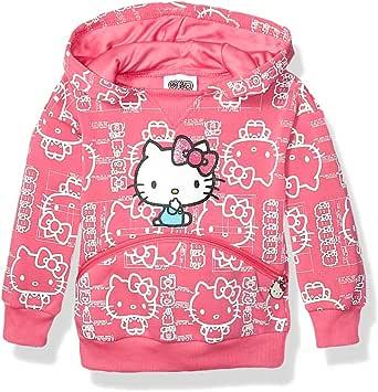 Hello Kitty 女童 45 周年时尚连帽衫