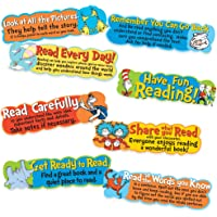 Eureka 课堂公告板套装,Dr. Seuss 阅读技巧迷你公告