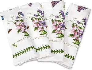 Portmeirion Botanic Garden Napkins, Set of 4, Cotton