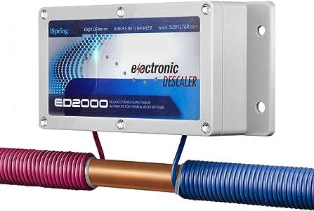 iSpring ED2000 全屋电子沙漠水护发素,银色