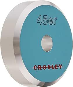 Crosley CR9100A-BK 铝合金 45 适配器(黑色)CR9100A-TU  配件