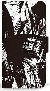 mitas 智能手机壳 手册式 和式习字 刷 涂鸦SC-0366-A/P9 lite PREMIUM 18_HUAWEI (P9 lite PREMIUM) A