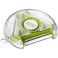 Joseph Joseph PEBG0100CB三刃旋转蔬菜削皮器,绿色