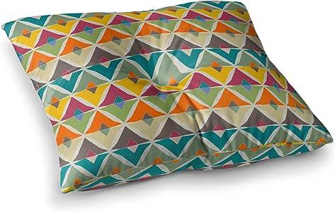 "KESS InHouse Julia Grifol ""My Diamond""方形枕垫 多种颜色 23"" x 23"" JG1026ASF01"