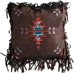 Carstens 刺绣十字枕头