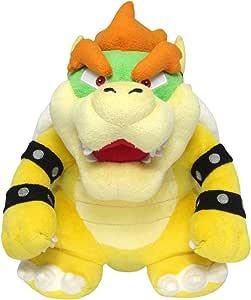 Sanei Super Mario 全明星系列 10 英寸碗头毛绒玩具,小号