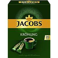 Jacobs Jacobs Krönung Löskaffee Sticks, (8 x 20 Instantkaffee Getränke), 8er Pack (8 x 36 g)