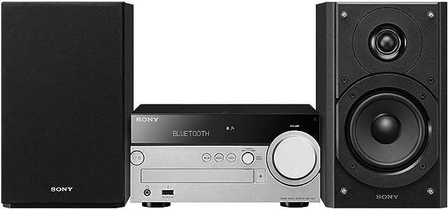 Sony 索尼 CMTSX7B.CEK  具有多房间,高分辨率音频播放CD和DAB的Hi-Fi音响系统-黑色