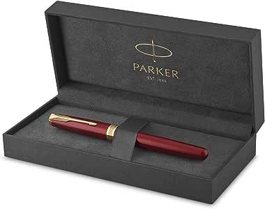 派克(PARKER)钢笔/签字笔宝石红色金夹商务办公礼品礼盒装