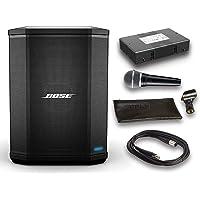 Bose S1 专业蓝牙音箱系统套装,带电池,Shure PGA48 麦克风,15ft XLR 音频线(6 件)