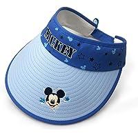 Surmoler 太阳帽米奇风格遮阳帽,防紫外线夏日海滩可折叠遮阳帽,适合男孩、女孩、儿童派对 - 迪士尼米奇