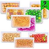 AFORCLI 可重复使用食品保鲜袋(9包) 9 Pack Mixed Size