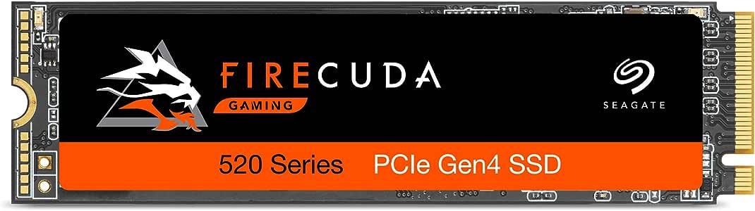 Seagate 固态硬盘ZP2000GM3A002  FireCuda 520 SSD PCIe Gen4 2 TB