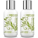 LuxeOrganix 摩洛哥摩洛哥坚果油洗发水和护发素 - *用于*角蛋白处理* - 不含硫酸盐 orange cre…