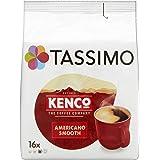 Tassimo Kenco 美式咖啡顺滑豆荚(5袋,共80份豆荚,80份),128克,16 x 8克
