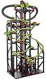fischertechnik 慧鱼 圆球导轨 XXL 轨道长度5.6m,3种模式,套装包括电机,彩虹LED,行止系统,趣味转轨开关
