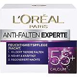 L'Oréal Paris 巴黎欧莱雅 抗皱专家 含钙抗皱晚霜,适合55岁以上女性,1 x 50ml