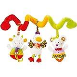 Fehn 70187 婴儿活动玩具 螺旋荧光 'kiddos