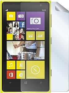 Celly 闪亮屏幕保护膜适用于诺基亚 Lumia 1020 (2 件)
