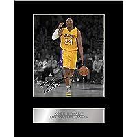 科比·布莱恩特签名装照片展示洛杉矶湖人队 01 NBA 印制签名礼品图片印制