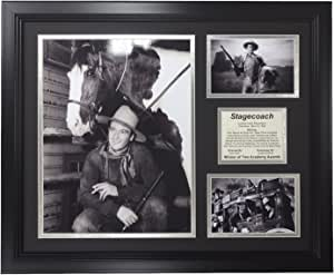 Legends Never Die Stagecoach 带框照片拼贴,40.64 厘米 x 50.8 厘米
