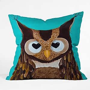 DENY Designs Mandy Hazell Owl Love You Throw Pillow