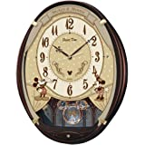 セイコー クロック 掛け時計 ミッキーマウス ミニーマウス 電波 アナログ 6曲 メロディ ミッキー&フレンズ Disn…