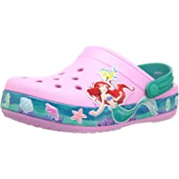 Crocs 卡骆驰儿童 Crocband Princess Ariel 洞鞋