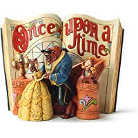 Enesco Disney Traditions by Jim Shore Beauty and The Beast Storybook Figurine, 6-Inch